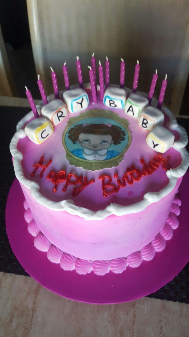 Melanie Martinez Birthday Cake