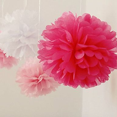 10 inch papieren bloem bruiloft Decorations - Set van 4 (meer kleuren) – EUR € 5.77 lightinthebox.com