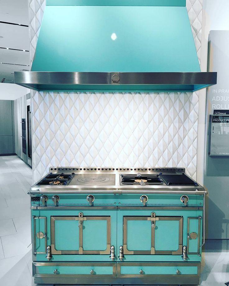 teal stove