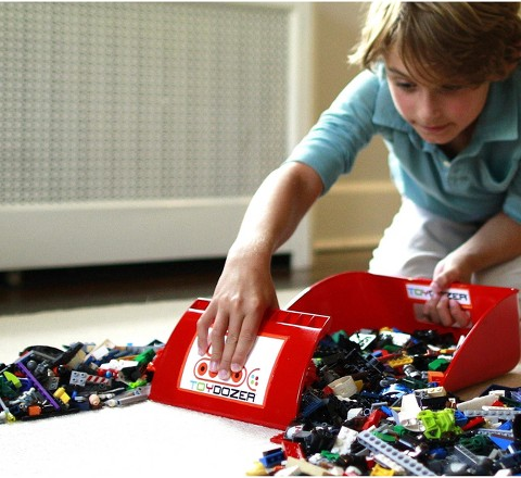 Make Cleaning Up Toys Fun For Your Kids With This Toydozer