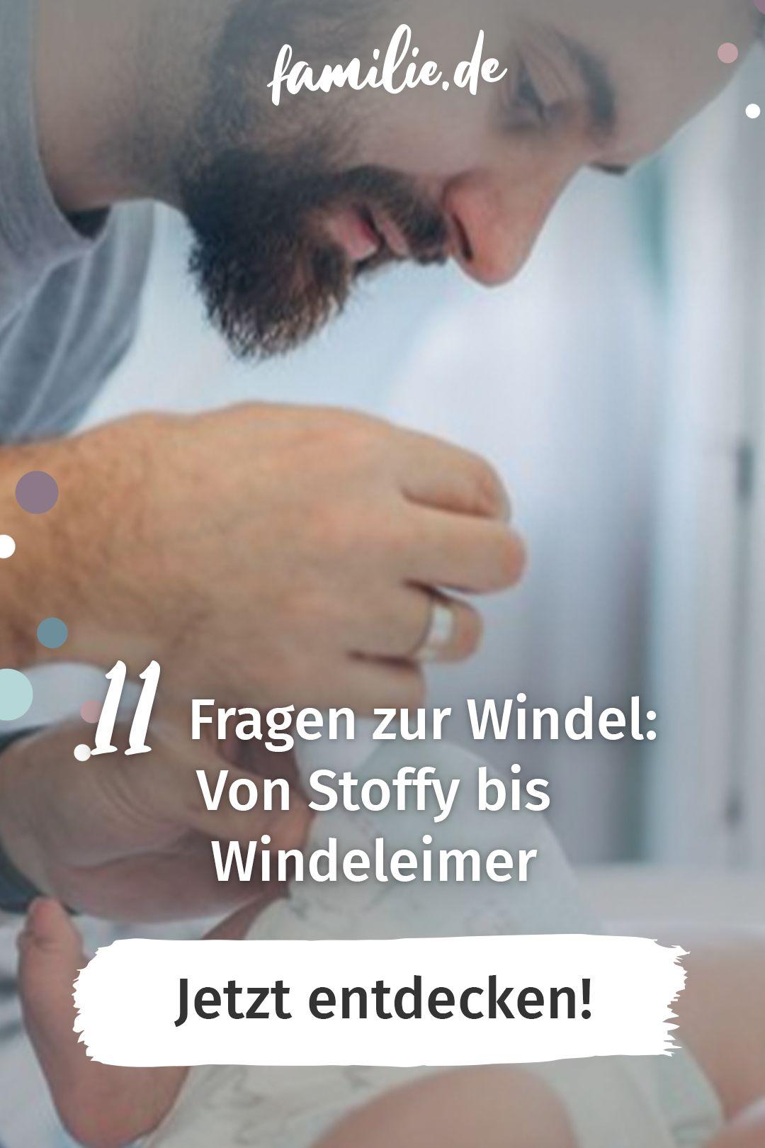 Von Stoffy bis Windeleimer: 11 Fragen zur Windel in 2020