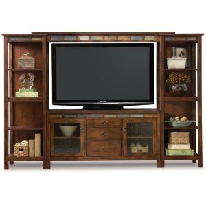Santa Fe Wall W 60 Console Media Centers Art Van Furniture