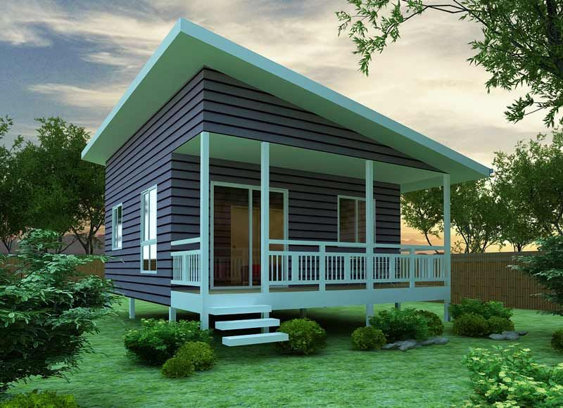 2nd story Floor Plan Ideas - for the garage mahal.  -The Chalet 45 Granny Flat Kit Home