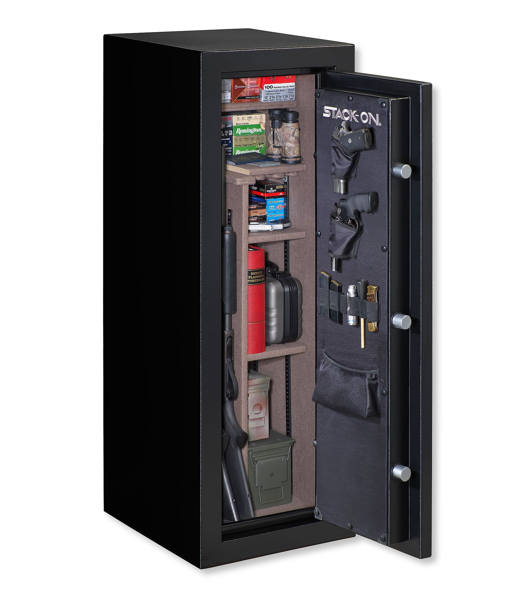Stack On Armorguard Electronic Gun Safe Products