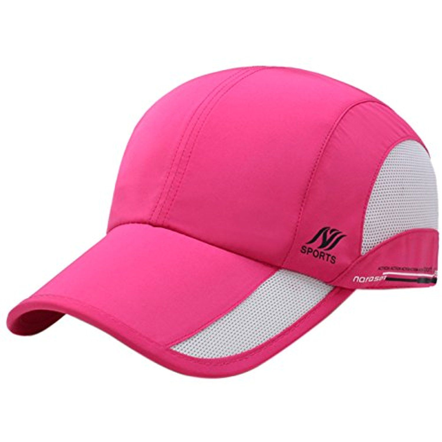 fcd8334115e Panegy Trucker Hat Quick Dry Breathable Mesh Warerproof Cap Long Brim  Adjustable Snapback Baseball Cap     To view further for this item