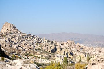 Pigeon valley in Cappadocia Turkey – Buy this stock photo and explore similar images at Adobe Stock