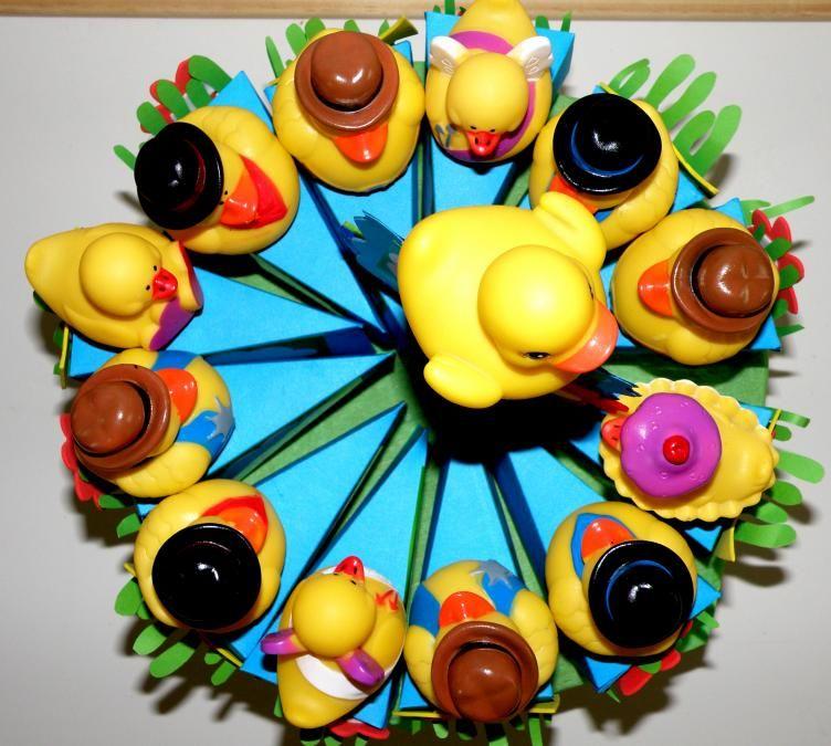 EENDJE jarig taart - traktatietaart - De Geschenkerij
