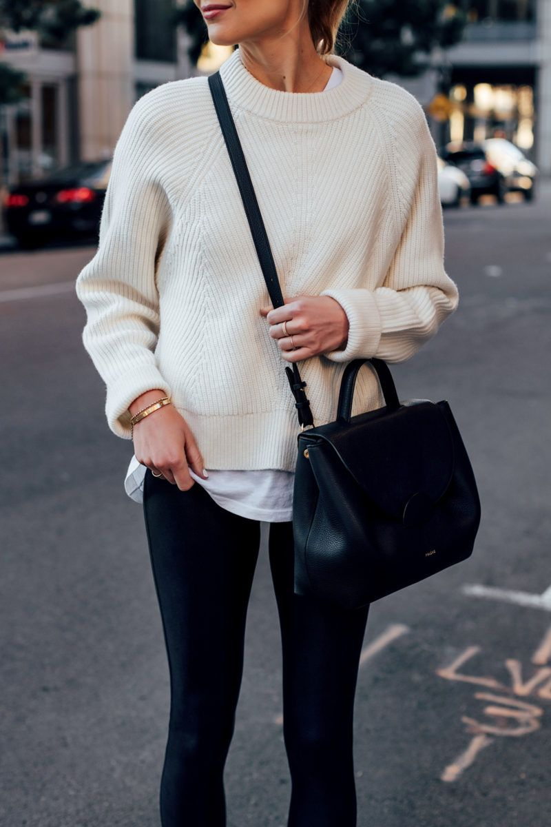 Why You Need the Spanx Faux Leather Leggings