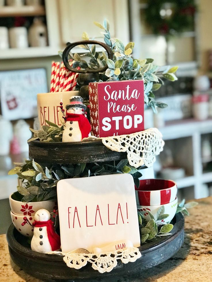 Photo of JOLLY INSPIRATION TO STYLING TIERED TRAYS FOR HAPPY HOLIDAYS