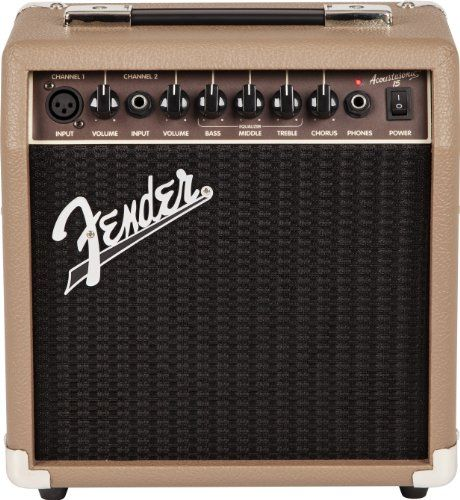 Amazon Com Fender Acoustasonic 15 Acoustic Guitar Combo Amplifier 15 Watts Musical Instruments Acoustic Guitar Amp Fender Guitar Amps Acoustic Guitar