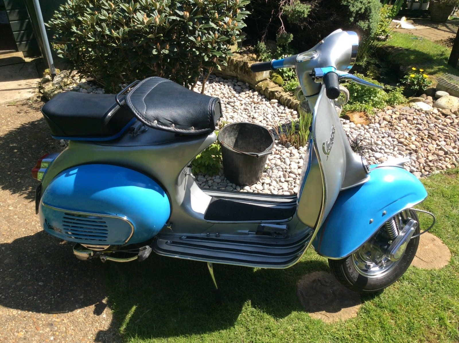 1962 Vespa sprint 150 cc full nut and bolt restoration v5 in my name on sorn