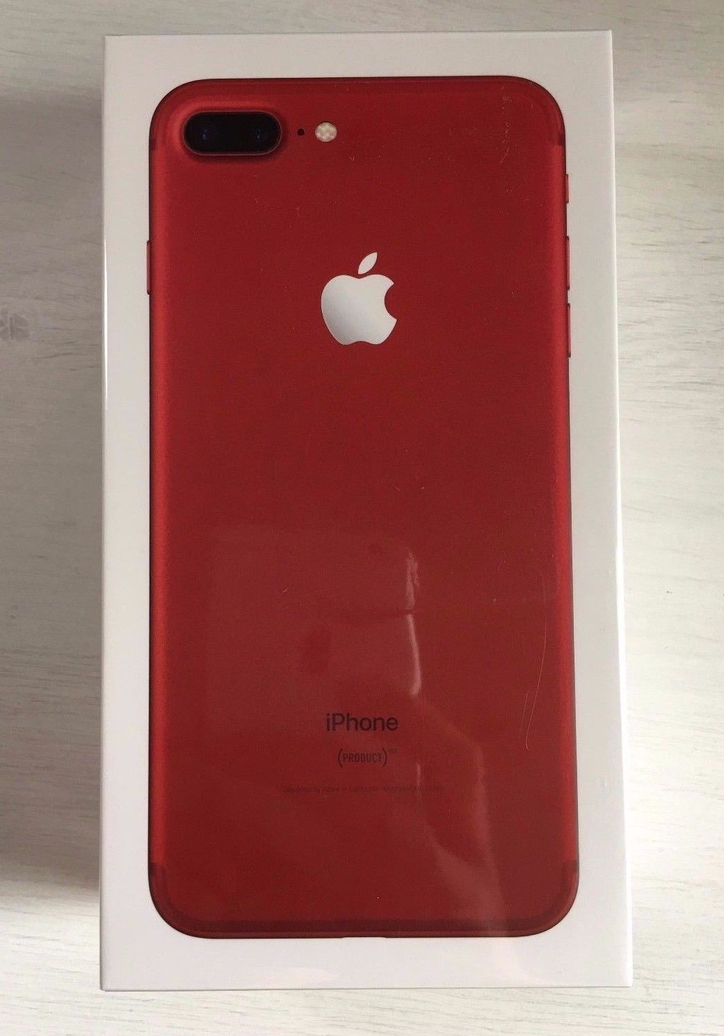 Apple iphone 7 plus 256 gb product red unlocked