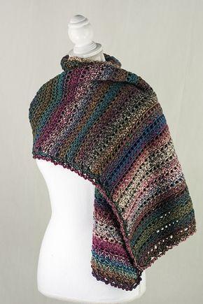 Pilgrimage Prayer Shawl - free crochet pattern by Kristen Stoltzfus ...