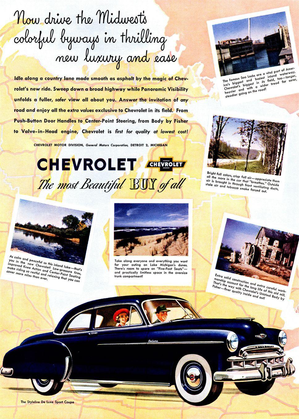 MY FIRST CAR - 1949 Chevy 2 Door Sedan (green, but no white walls) I ...