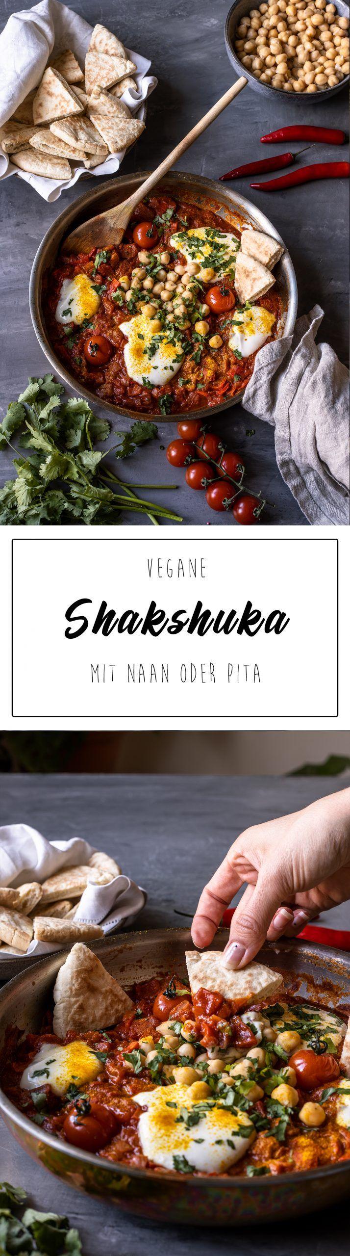 Vegane Shakshuka mit Vollkornpita - Vegan Mom by Anna Elisie
