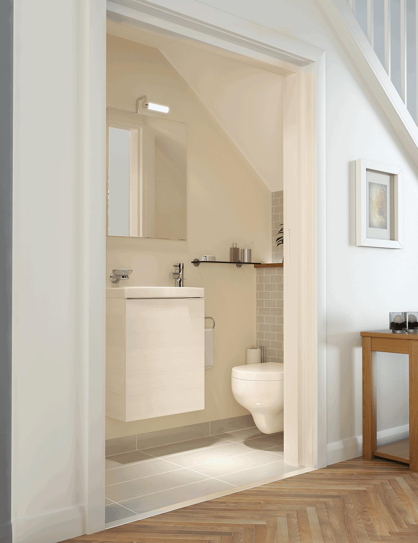 Bathline Bathroom Cloakroom Design Bathrooms Northern Ireland Bathroom Under Stairs Bathroom Design Small Bathroom Layout