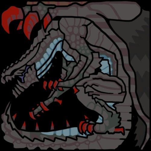 Gore Magala's Monster Icon.