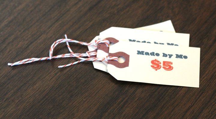 The Whole Package Diy Price Tags The Good Weekly Diy Clothes Labels Craft Stores Craft Show Ideas