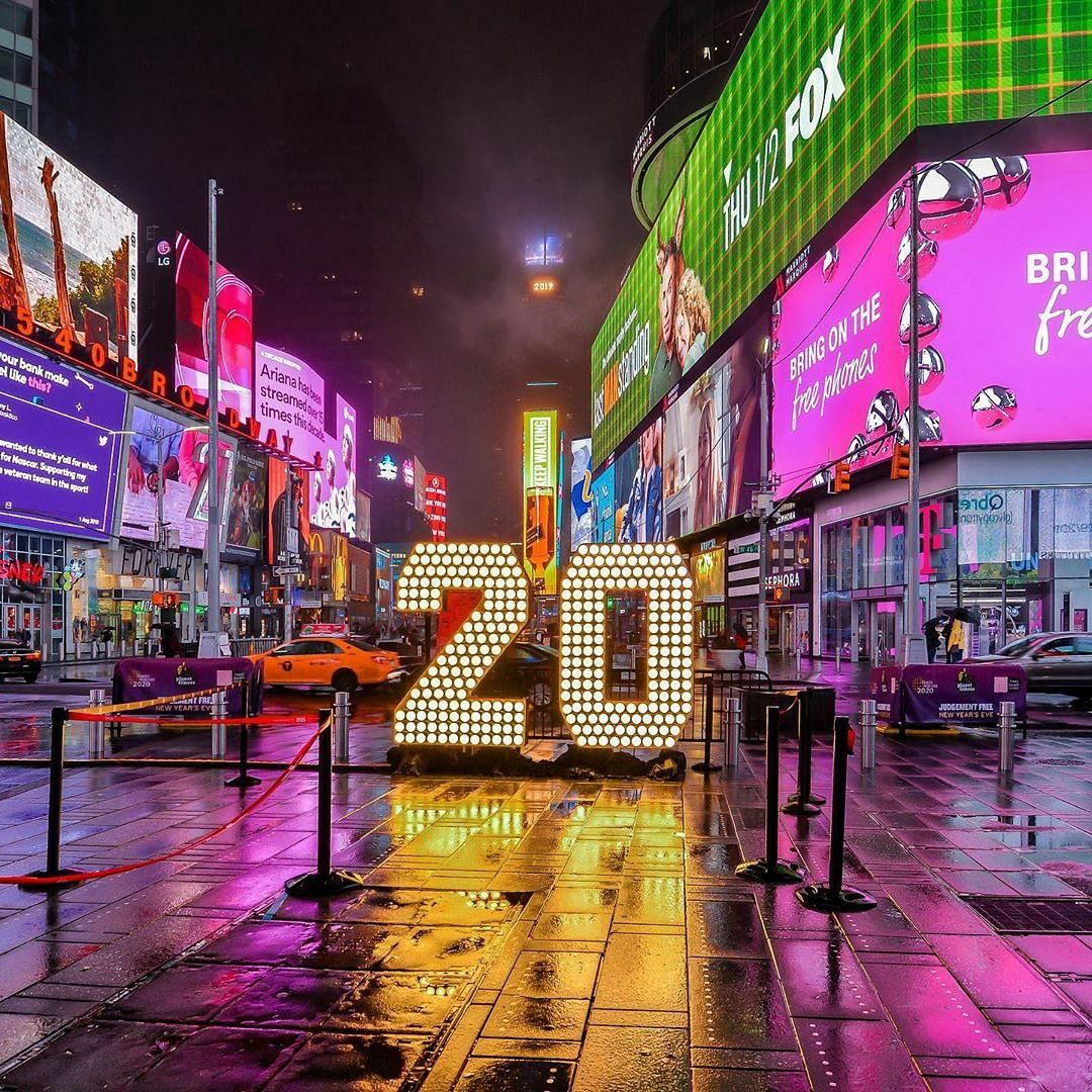 2020 Vision. Would you watch the BallDrop on New Years Eve