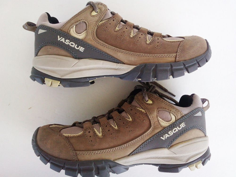 Vasque Brown Suede Leather Hiking Boots 7397 Ladies Size 9 M   Free USA Ship 975c83195b76