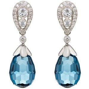 Womens Bella Verso Double-Drop Earrings McTeigue & McClelland DczMAqqb