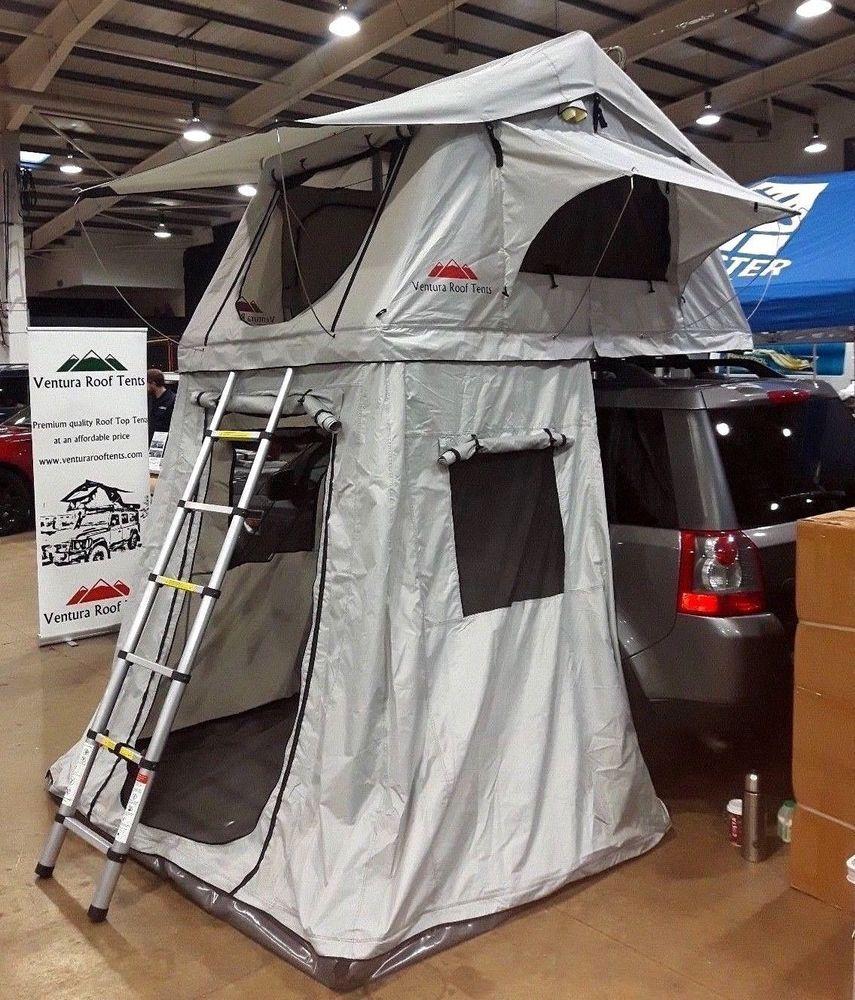 Ventura Deluxe 1.4 Dachzelt Mit Vorzelt Autodachzelt Auto