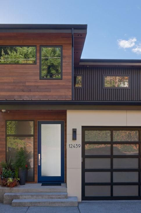 Modern House Exterior Design: Tour Recently Remodeled Homes Demonstrating NW Style At A