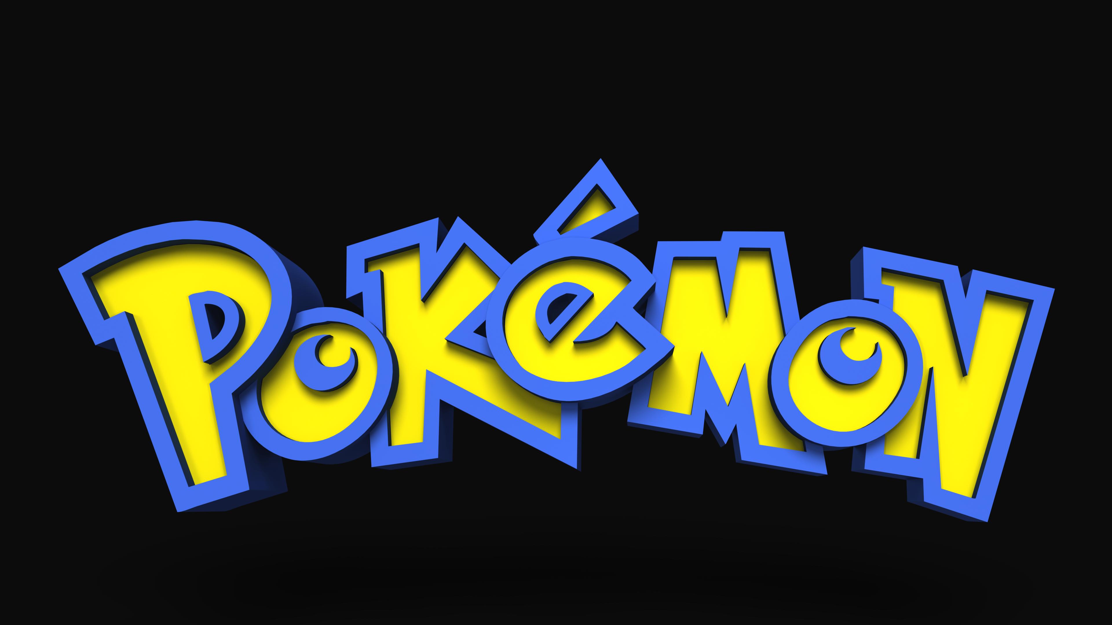 Oc I Rendered The Pokemon Logo In 3d Using Only Photoshop Pokemon Logo Pokemon Theme Pokemon
