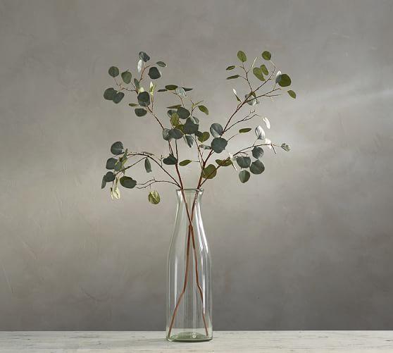 Faux Silver Dollar Eucalyptus Branch Greenery