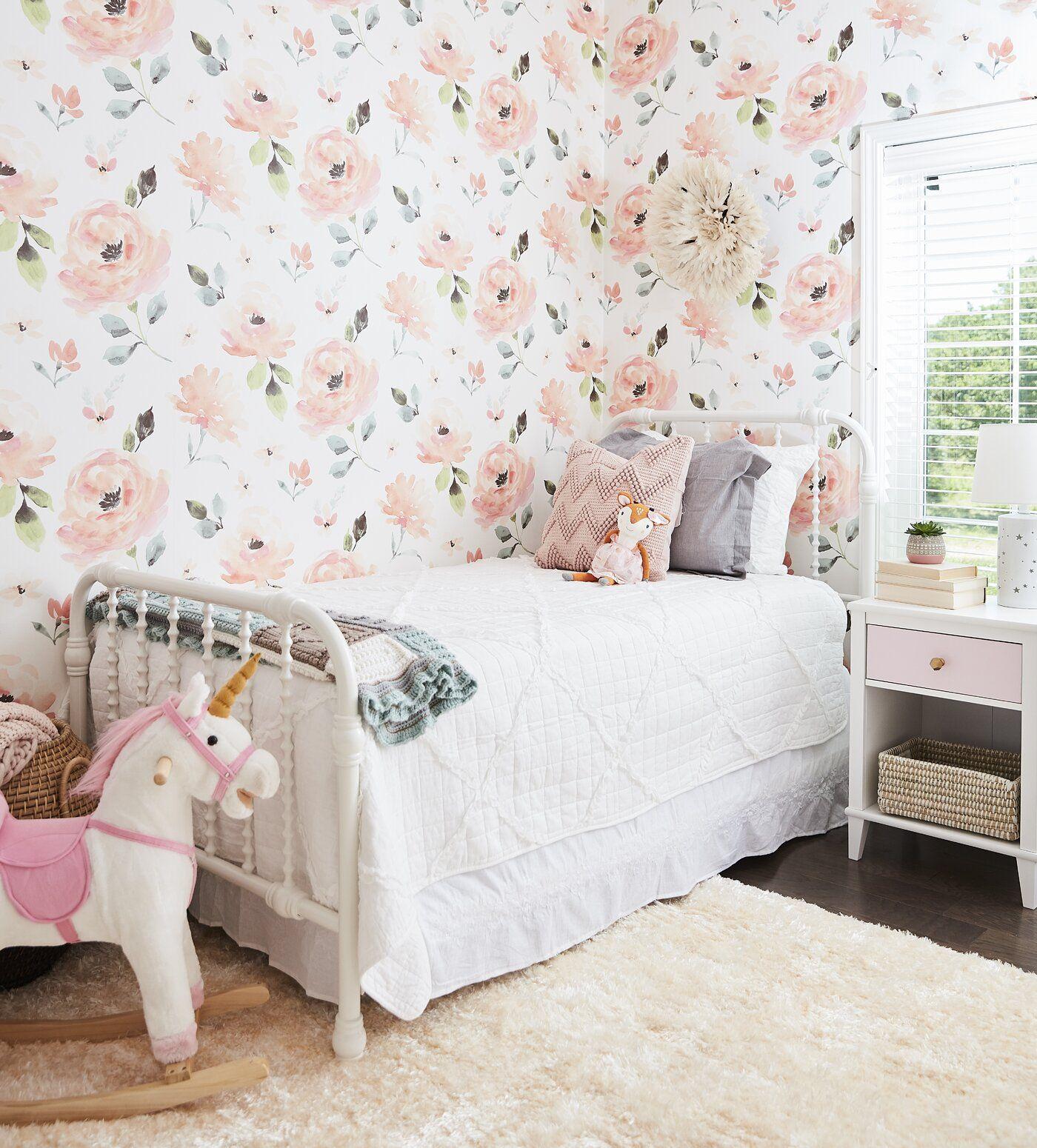 Unicorn Plush Rocking Horse (With images) Girls bedroom