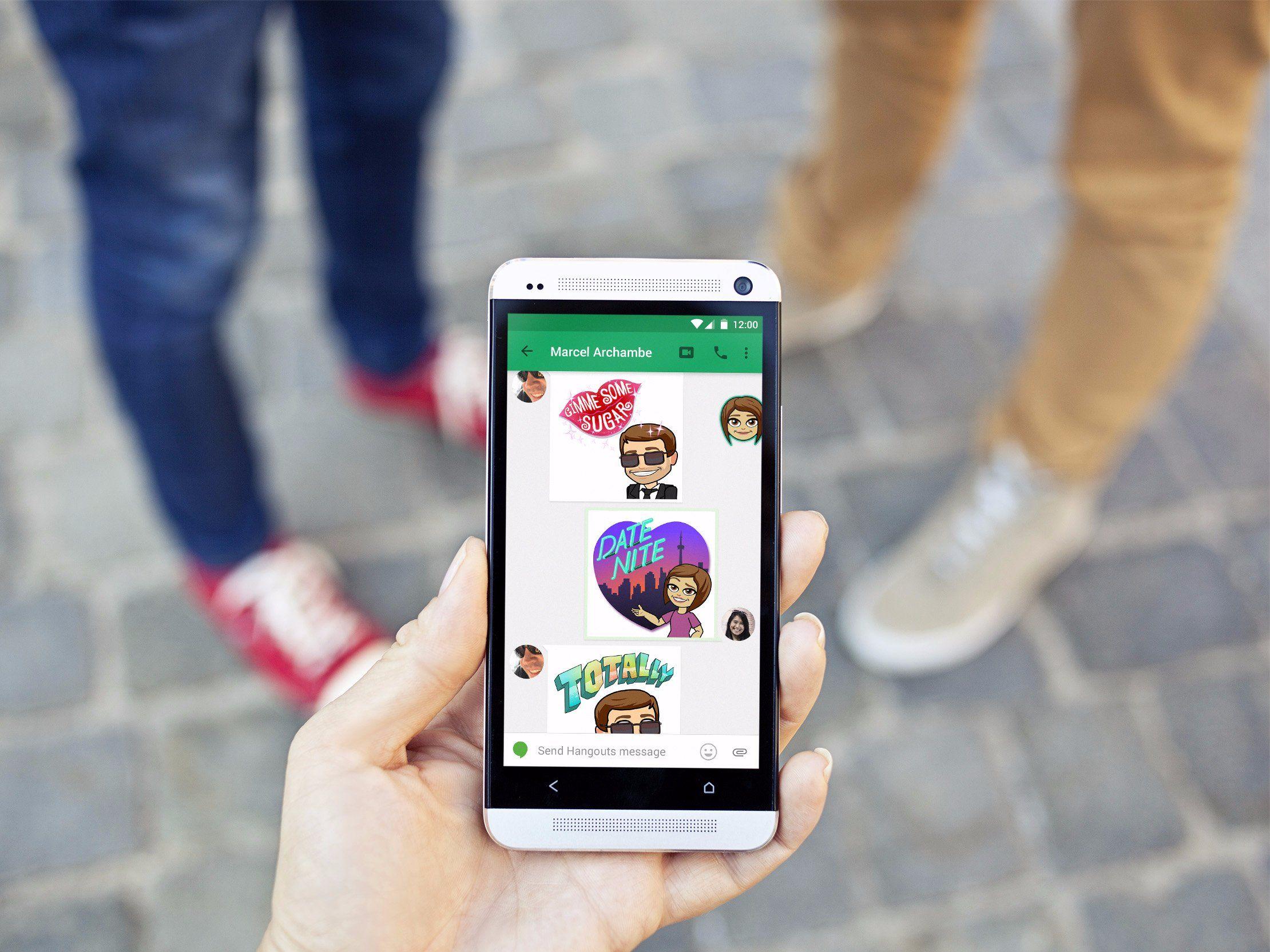 Bitmoji snapchats emoji creator is fastestgrowing app