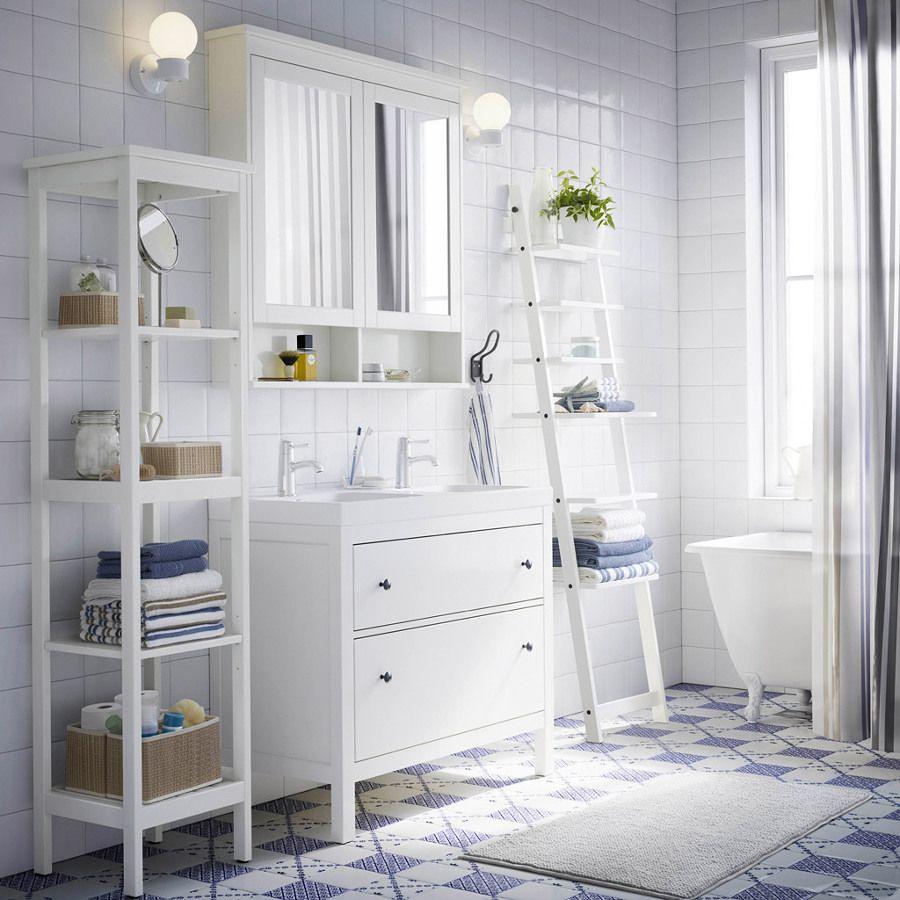 Bano Estilo Nordico Reforma De Banheiros Pequenos Moveis Para