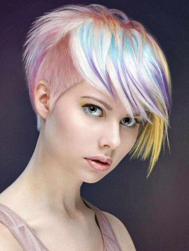 Undercut Frauen Frisuren - so stylen Sie den Undercut