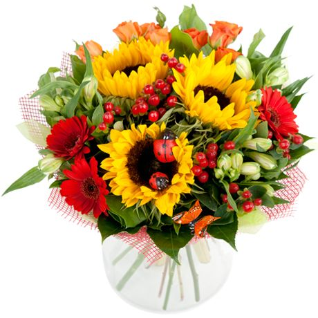 цветы первоклассника фото