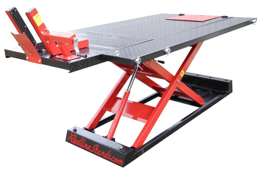 Black Widow Prolift Heavy Duty Air Hydraulic Motorcycle Lift Table 1 500 Lb Capacity