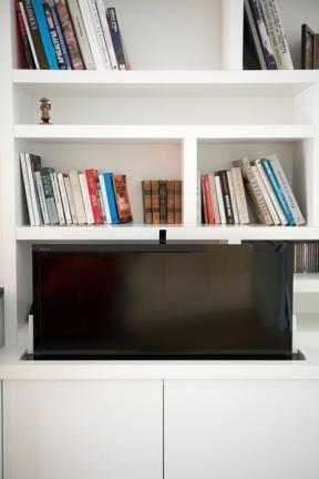 Meuble TV - bibliothèque deco Pinterest Tv bibliothèque - Meuble Tv Avec Rangement