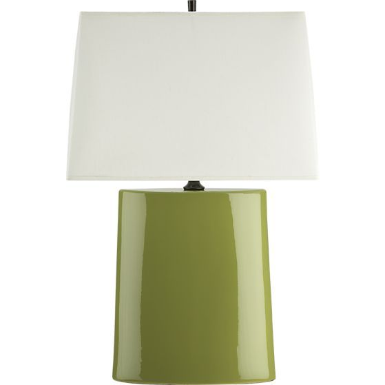 Elisa S Favorite Color Is Green From Avocado To Lime To Chartreuse Nice Lamp Shape Too Lamp Table Lamp Lamps Living Room