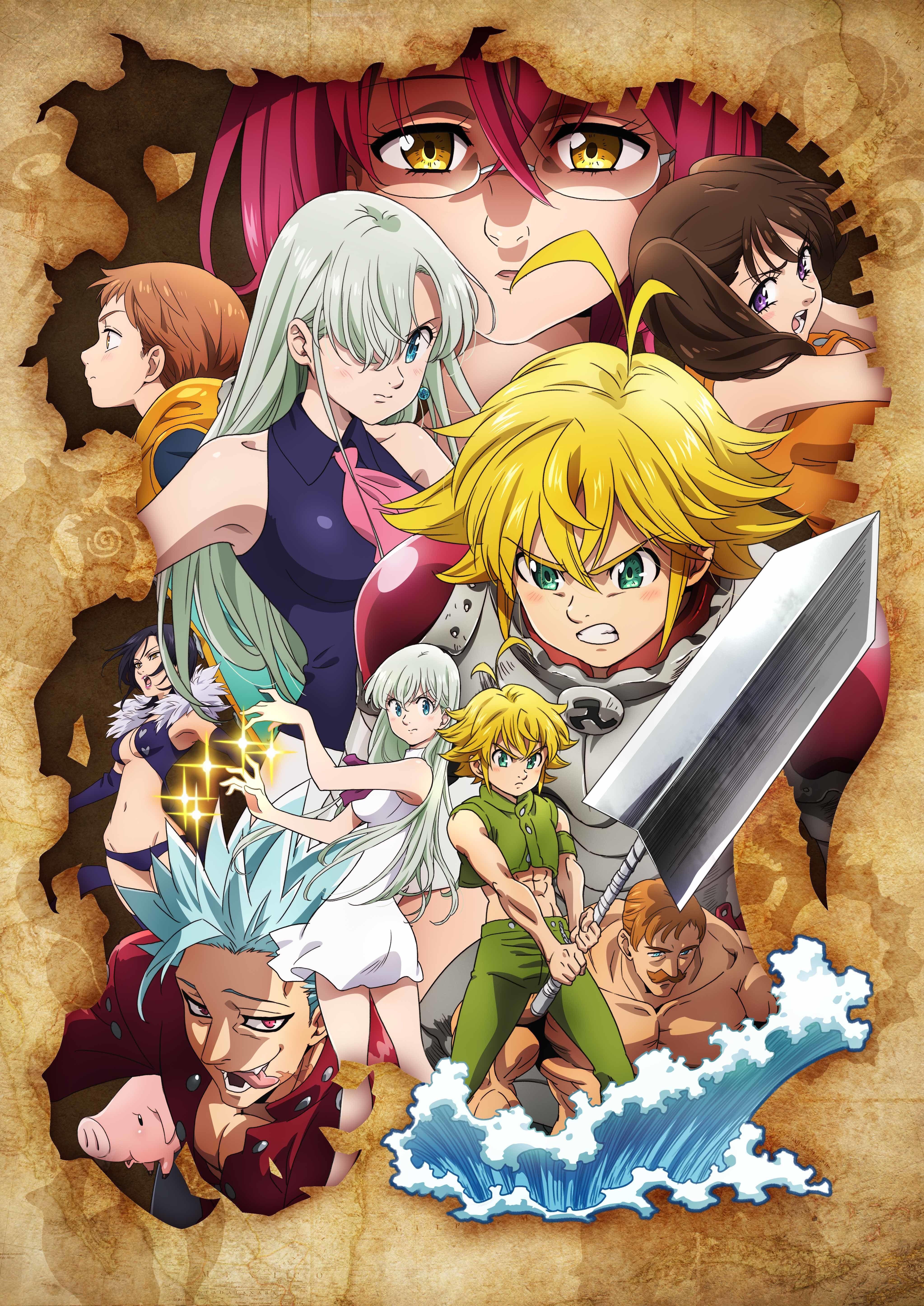 Pin de Nathan J. Nazario em Ney Seven deadly sins anime