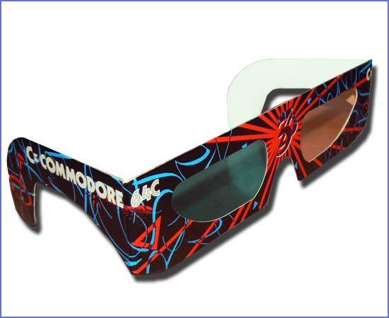 Los Juegos En 3d Con Gafas Anaglíficas Para Commodore Gafas Juegos
