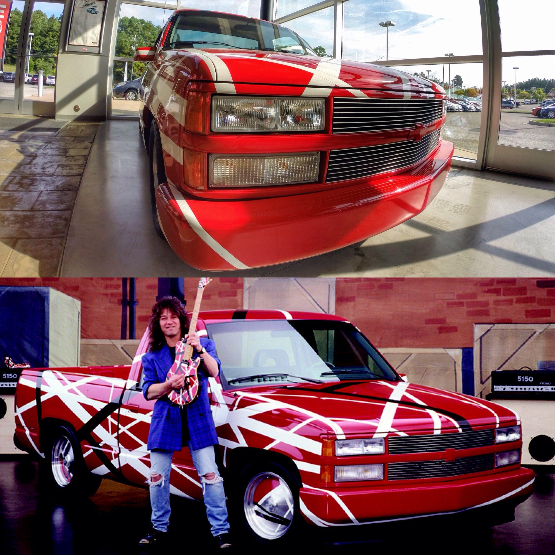 Did You Know We Have Eddie Van Halen S Boyd Coddington Custom Chevy Sitting In Our Used Car Showroom Eddie Van Halen Van Halen Car Showroom