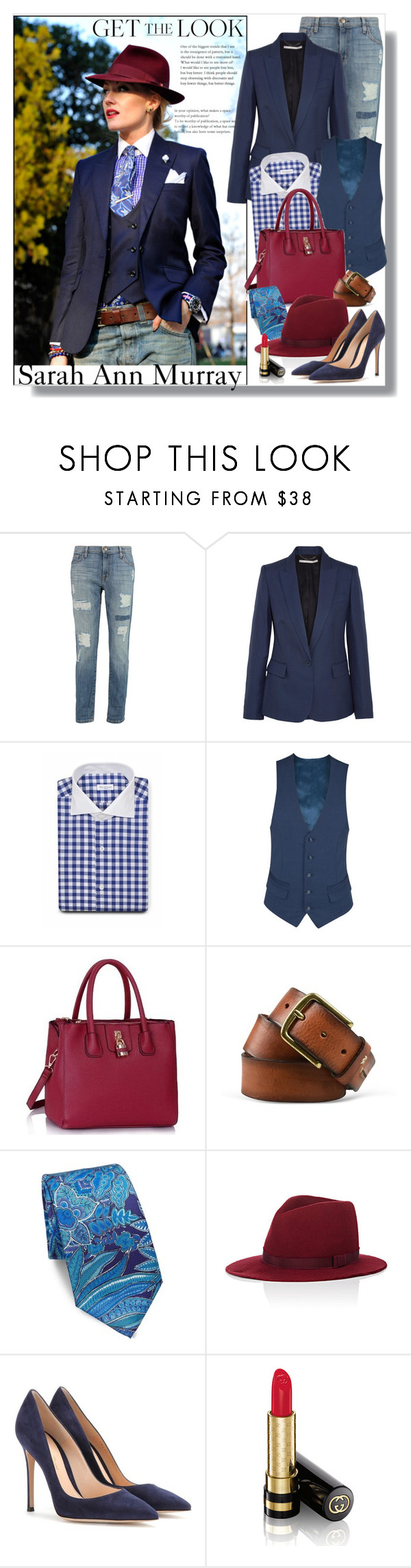 """""""Love Her Style!"""" by gasteovska-t ❤ liked on Polyvore featuring Current/Elliott, STELLA McCARTNEY, Diverso, Napapijri, Ralph Lauren, House of Lafayette, Gianvito Rossi, Gucci, StreetStyle and WhatToWear"""