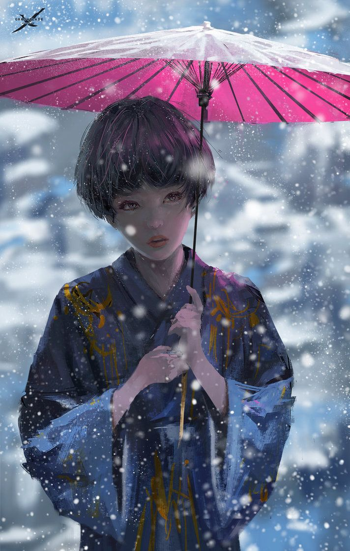 Terra ucsnow by wlop ud chicas anime pinterest snow sketch