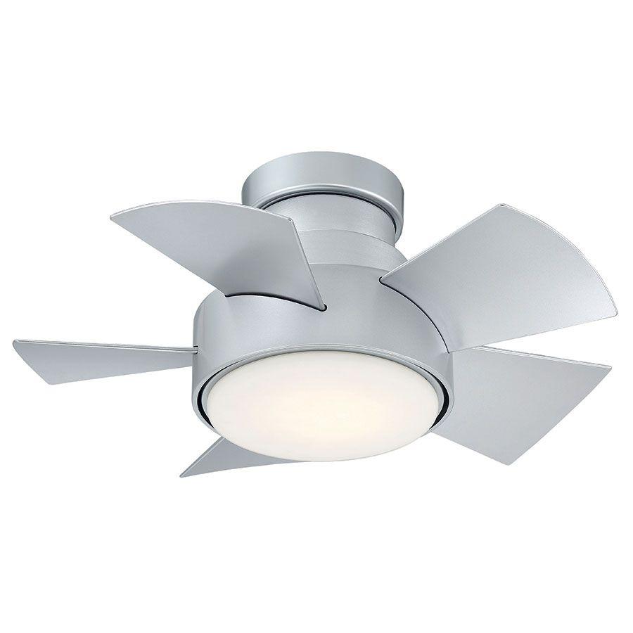 Vox Flush Mount Ceiling Fan By Modern Forms Fh W1802 26l Tt Flush Mount Ceiling Fan Ceiling Fan Led Ceiling Fan