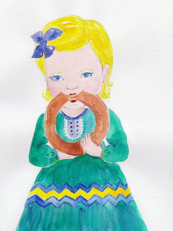Custom Watercolor portrait Custom portrait от GiftArtstatus