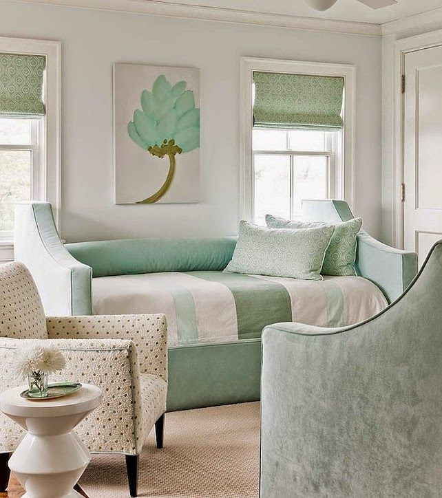 Mint Wandfarbe: 60 Wonderfull The Interior Design Ideas