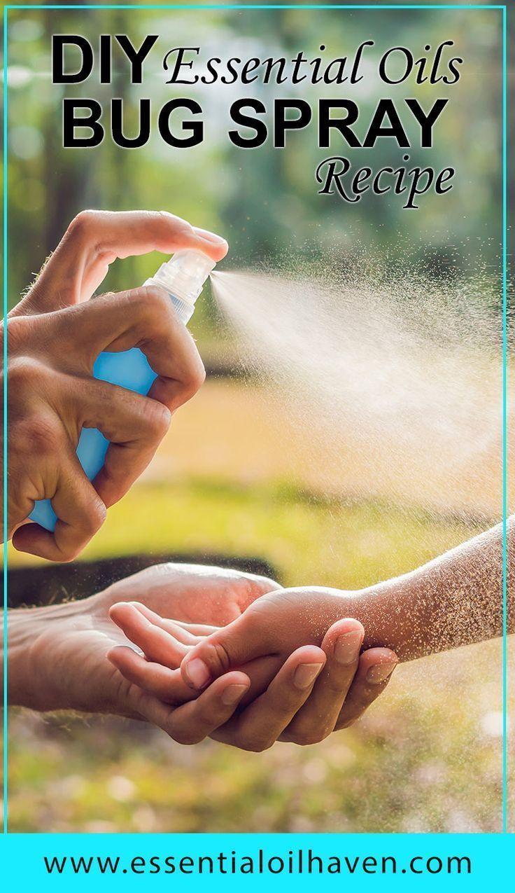 Essential oils for mosquito repellent plus diy bug spray