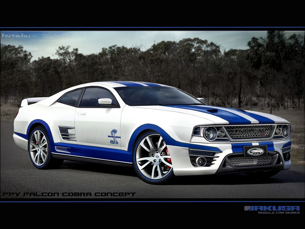 A Modern Take On Aussie Ford Falcon Coupe