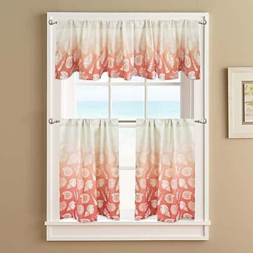 10 Attractive Coastal Kitchen Curtains Under 33 00 Wohn Design Vorhang Fenster Wohnen