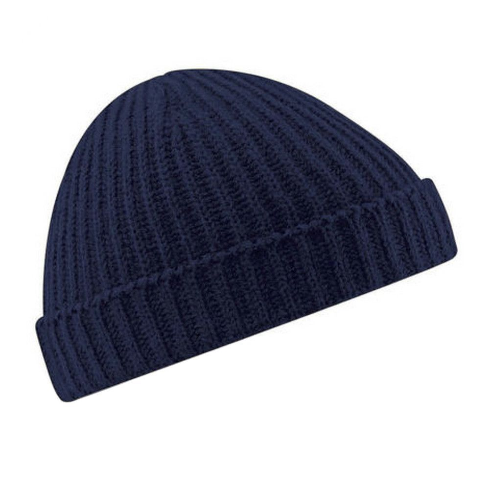 Soft Beanie Hat Warm Ribbed Fall Winter Turn Up Retro Outdoor Ski Skate  Unisex Fisherman Docker 6 Solid Colors Caps BHU2 9a8ae136cd9a
