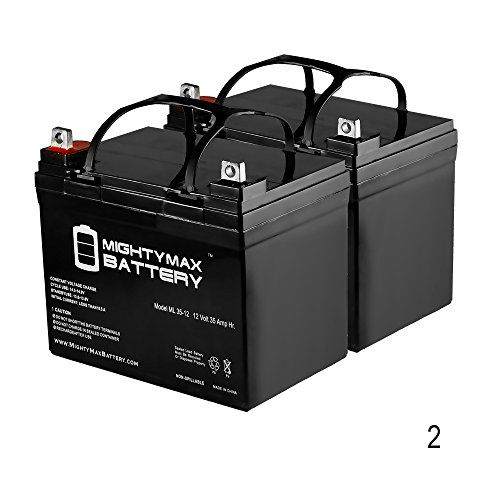 12v 35ah Battery For Shoprider 6runner 10 Power Chair Scooter 2 Pack Mighty Max Battery Brand Product Want Mighty Max Portable Solar Power Pride Mobility